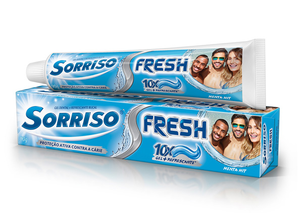 Gel Dental Sorriso Fresh Xtra Mint